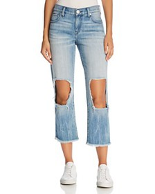 True Religion - Star Crop Straight Jeans in Second