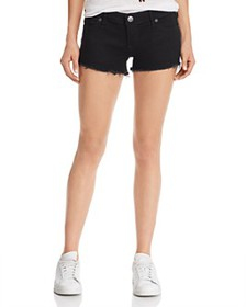 True Religion - Joey Low-Rise Denim Shorts in Body