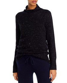Theory - Karinella Cashmere Donegal Knit Turtlenec