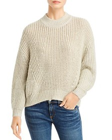 Splendid - Metallic Ribbed Sweater