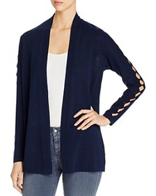 VINCE CAMUTO - Open-Front Cardigan with Cutout Det
