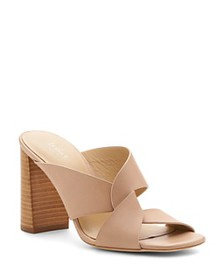 Botkier - Women's Raven Leather Slide Sandals