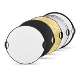 Glow 5-in-1 Collapsible Circular Reflector with Ha