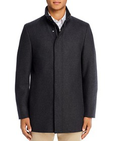 Theory - Belvin Z Modus Regular Fit Coat - 100% Ex