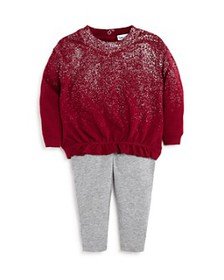 Splendid - Girls' Metallic Spray Top & Leggings Se