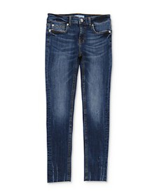 7 For All Mankind - Girls' Faded Skinny Stretch Je