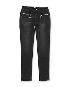 7 For All Mankind - Girls' Zip-Pocket Skinny Stret