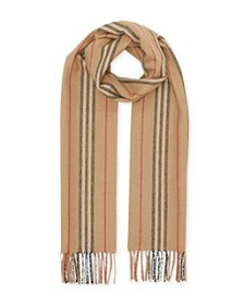 Burberry - Icon Stripe Cashmere Scarf