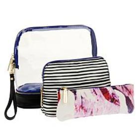 Hang Accessories 3-in-1 Cosmetic Bag Travel Set