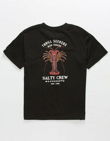 SALTY CREW Buggin' Out Black Boys T-Shirt_