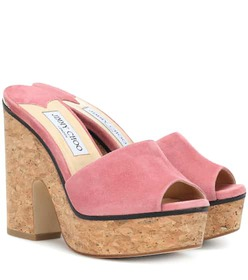 Jimmy Choo Deedee 125 suede sandals