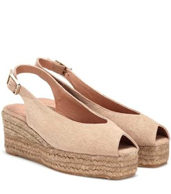 Castañer Dosalia canvas wedge espadrilles