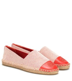 Tory Burch Canvas and leather espadrilles