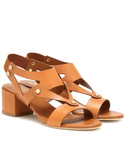 Tod's Leather slingback sandals