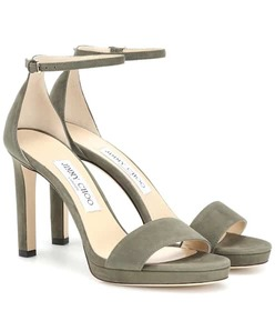 Jimmy Choo Misty 100 suede sandals
