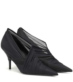 Balenciaga Stretch mesh pumps