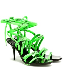 Balenciaga Lace-up sandals