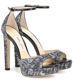 Jimmy Choo Pattie 130 plateau sandals