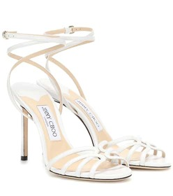 Jimmy Choo Mimi 100 leather sandals