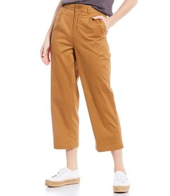 Element Olsen High Rise Cropped Chino Pants