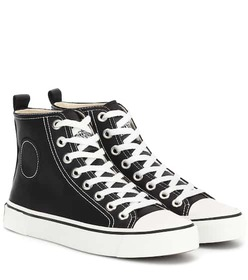 Marc Jacobs Satin high-top sneakers