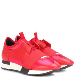 Balenciaga Race Runner leather sneakers