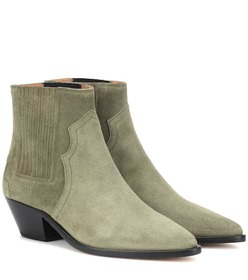 Isabel Marant Derlyn suede ankle boots