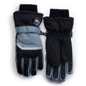 NOLAN Boys' Ribbed Cuff Gloves