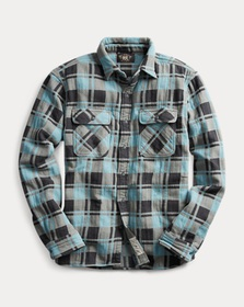 Ralph Lauren Plaid Jacquard Workshirt