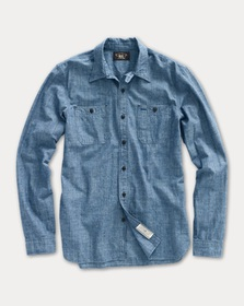 Ralph Lauren Cotton Chambray Workshirt
