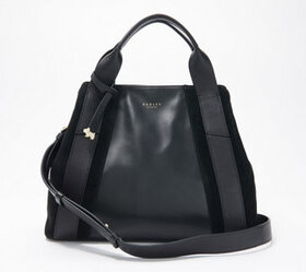 """As Is"" RADLEY London Leather and Suede Handbag -"