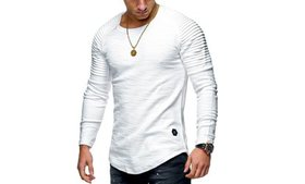 Men's Casual Long-Sleeve Solid Color Henley Shirts