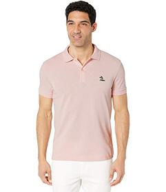 Lacoste Short Sleeve 2 Ply Regular Pique with Embr