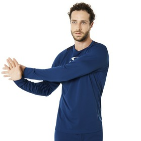 Oakley Enhance Long Sleeve Crew 8.7.01 - Dark Blue