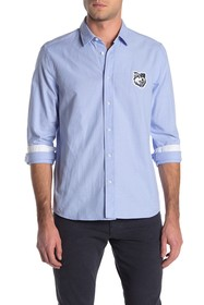 BOSS Emorino Straight Fit Dress Shirt