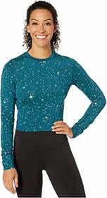 Nike Pro Warm Starry Night Metallic Top