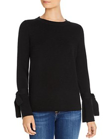 C by Bloomingdale's - Tie-Sleeve Cashmere Sweater