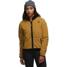 The North Face Dunraven Sherpa Crop Jacket - Women