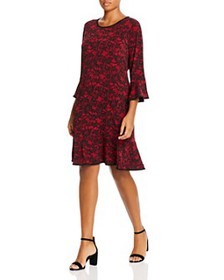 MICHAEL Michael Kors Plus - Lace-Print Dress