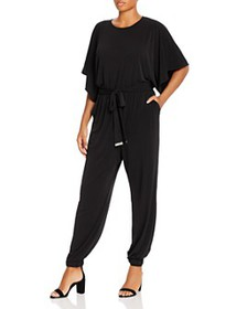 MICHAEL Michael Kors Plus - Dolman-Sleeve Jumpsuit