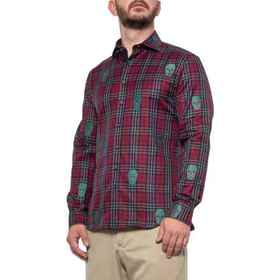 Bobby Jones Rule 18 Skull Tartan Coupe James Shirt