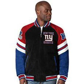 Officially Licensed NFL Colorblocked Suede Jacket