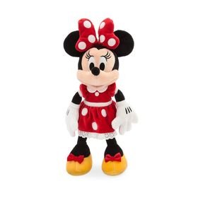 Disney Minnie Mouse Plush – Red – Small – 14''