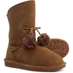 Bearpaw Olivia Wool-Lined Boots - Leather (For Gir