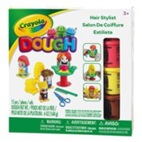 CRAYOLA Crayola Modeling Dough Hair Stylist Art Se