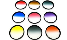 52mm HD Multicoated Graduated Color Filter Kit For