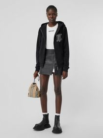 Burberry Monogram Motif Cotton Oversized Hooded To