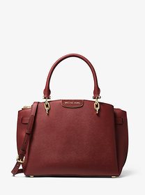 Michael Kors Rochelle Large Saffiano Leather Satch