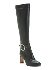 NAPOLEONI Made In Italy Leather Knee High Boots