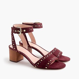 J. Crew Penny sandals in studded suede